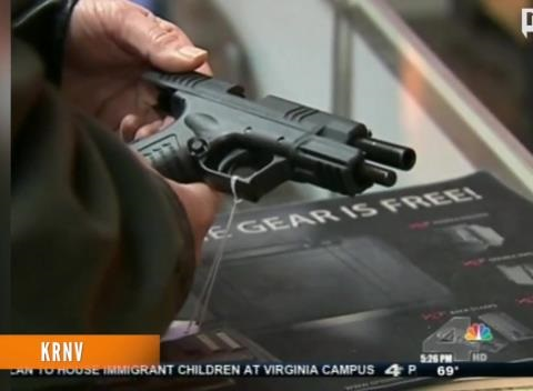News video: Supreme Court Upholds Federal 'Straw' Gun Purchase Ban