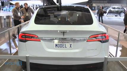 News video: The Tesla Model X SUV Is Coming In Early 2015 With Gull-Wing Doors